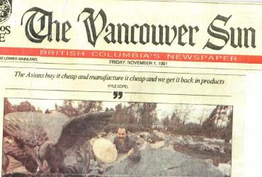 "1991-11-01 - Vancouver Sun – ""Green Gold""1991-11-01 - Vancouver Sun – ""Green Gold"""