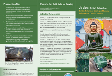 "2015 July - Canadian Government – ""Jade in British Columbia"""